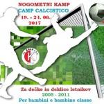 NOGOMETNI KAMP 2017