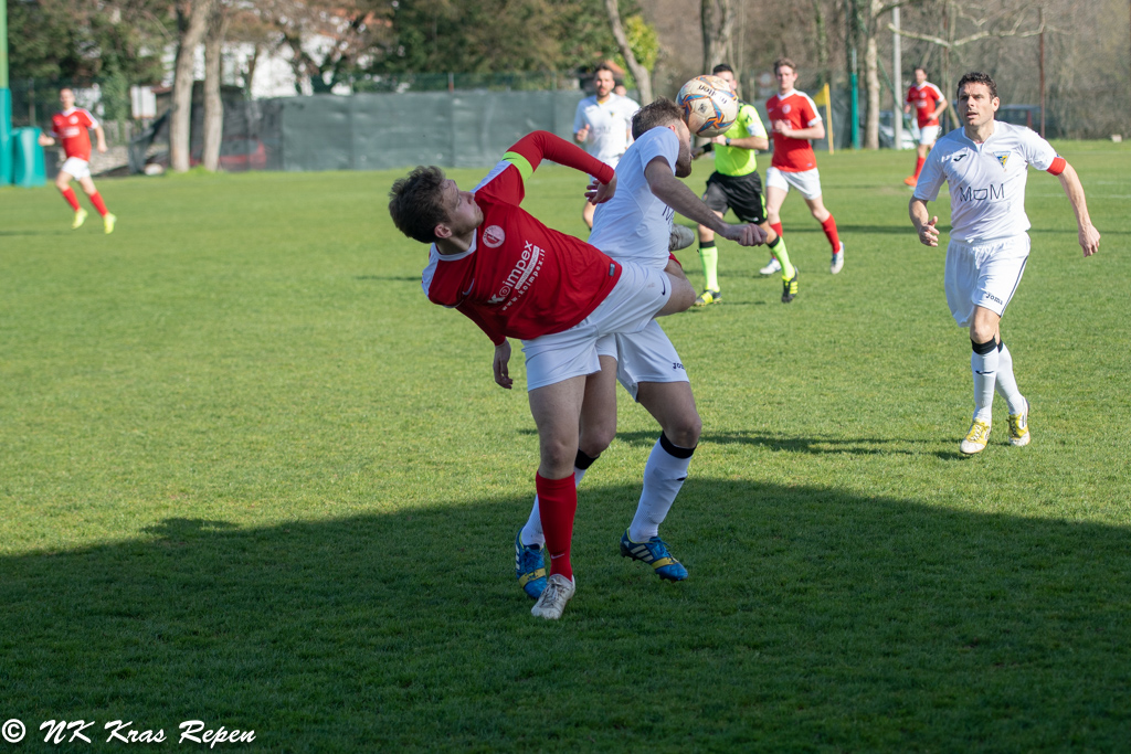 Eccellenza-Elitna Liga – Ronchi-Kras Repen 1-1
