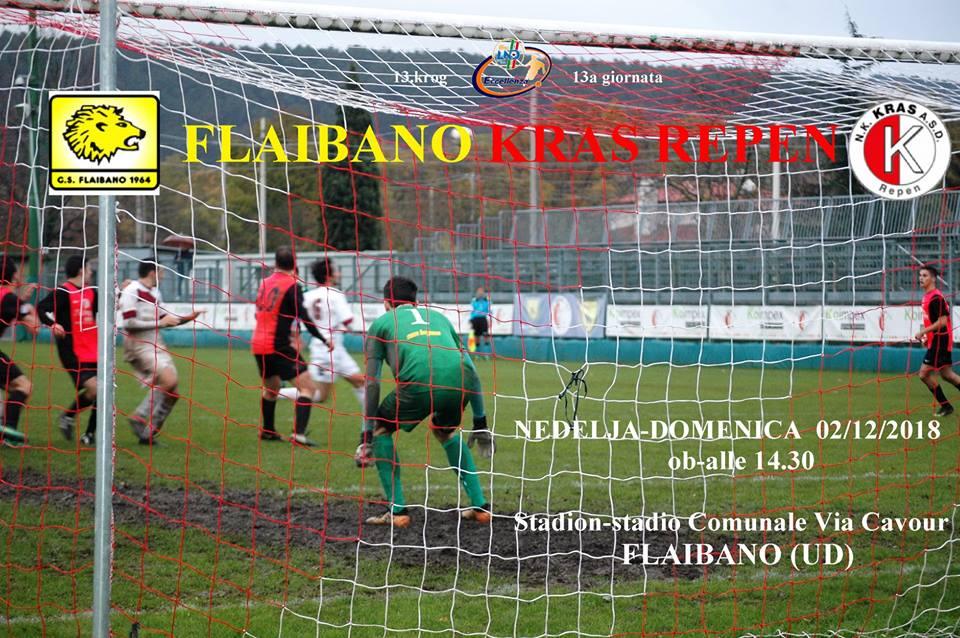 ELITNA LIGA-ECCELLENZA – FLAIBANO-KRAS REPEN (13.krog-turno)