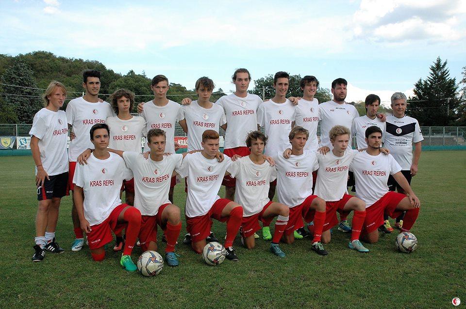 Juniores-Mladinci: Chions-Kras Repen 2-0